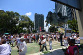 Vigília em defesa da democracia no Recife