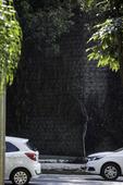 Muro verde tem falhas na 23 de Maio