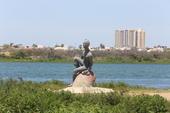 Estátua Negro Da Água