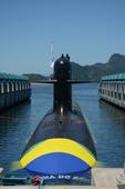 Lançamento ao mar do Sumarino Riachuelo