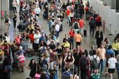 3 dia de filas no Aeroporto de Guarulhos