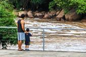 Rio Tietê em Salto SP