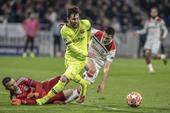 Lyon x Barcelona