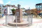 Statue of Luiz Gama in Salvador