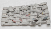 Braid made with newspaper