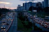 Congestionamento em Brasília