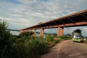 Estrada de ferro em Marabá