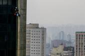 Dia nublado em São Paulo