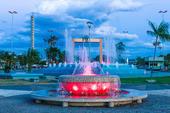Praça das Águas em Boa Vista