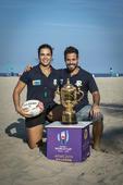 Troféu Copa do Mundo e Treino de Rugby
