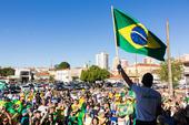 Ato pro Bolsonaro em Rio Claro