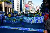 Ato pro Bolsonaro em São Paulo