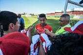Treino da Seleção Peru