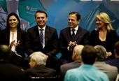 Bolsonaro participa de cerimônia no CPB