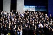 Ato em defesa das polícias Federal e Civil