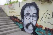 Muro no Largo da Ordem em Curitiba