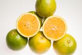 Fruta laranja pera