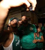 Desembarque do Palmeiras em Fortaleza
