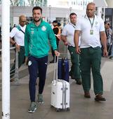 Desembarque do Palmeiras em Buenos Aires