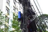 Furto de fios elétricos