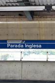 Pombos na Estação do Metrô Parada Inglesa