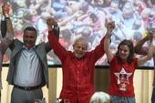 Ex presidente Lula em Salvador