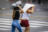 Tarde chuvosa em São Paulo