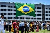 Jair Bolsonaro em evento no Rio de Janeiro