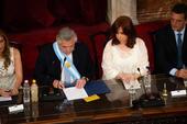 Assunção de Alberto Fernández presidente