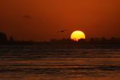 Por do Sol em Laguna Santa Catarina