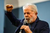 Lançamento do livro de Lula