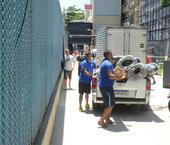 Ultimos ajustes no Sambodromo carioca