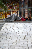 Morador de rua em Curitiba