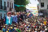 Desfile dos bonecos gigantes de Olinda
