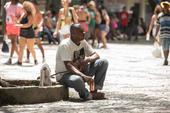 Movimentação nas ruas do centro RJ