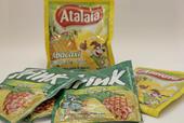 Embalagem de suco de abacaxi