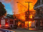 Incêndio em supermercado de Belém