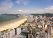 Praias fechadas em Santos