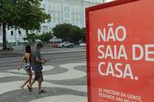 Paria de Copacabana vazia COVID 19