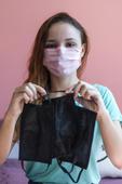 Máscaras para doação
