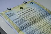 Certidão de nascimento com CPF