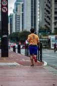 Atividade física ciclovia da Av Paulista
