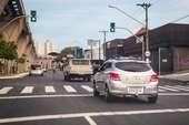 Trânsito tranquilo nas ruas da Cidade SP